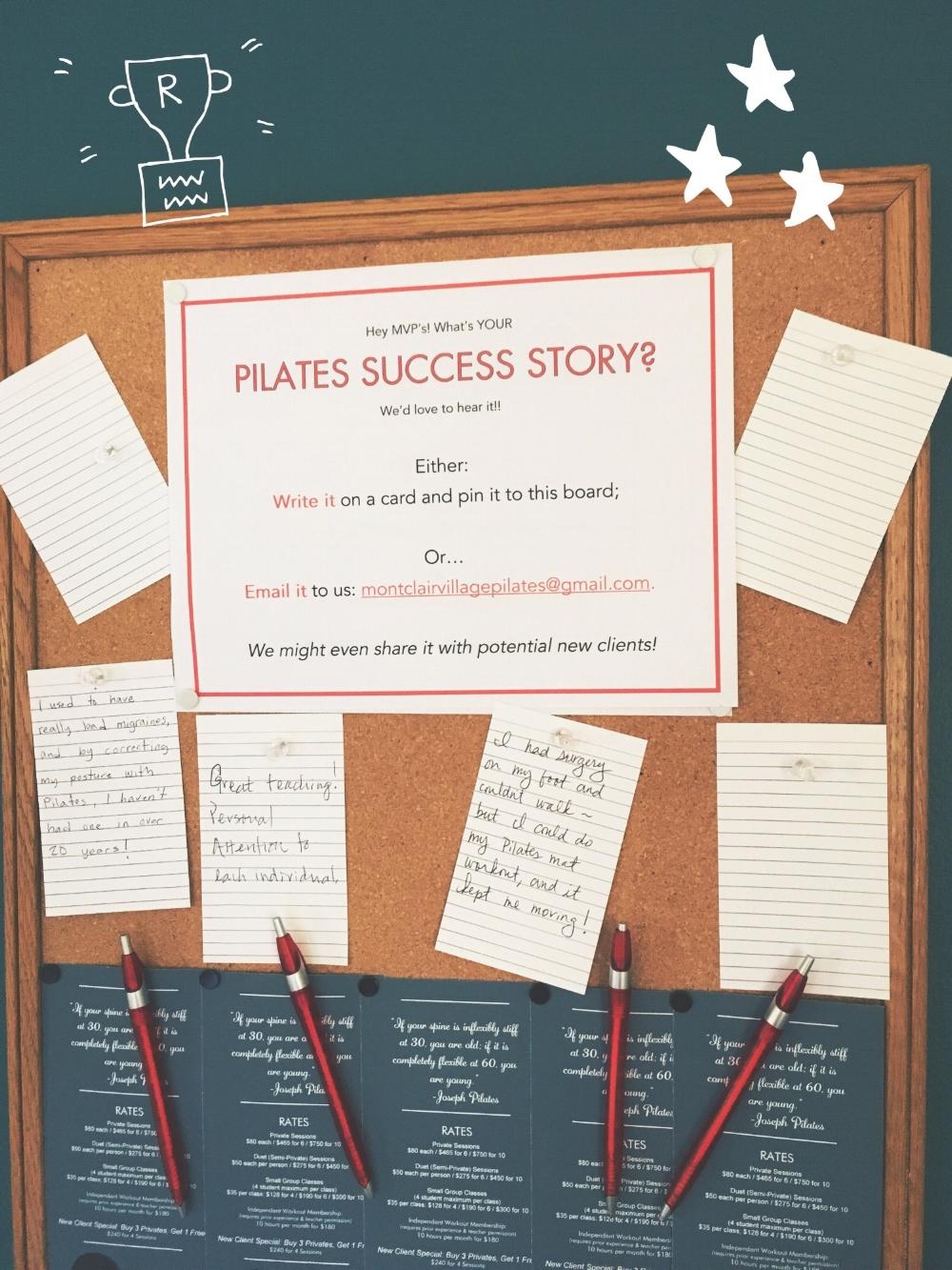 Pilates Success Stories