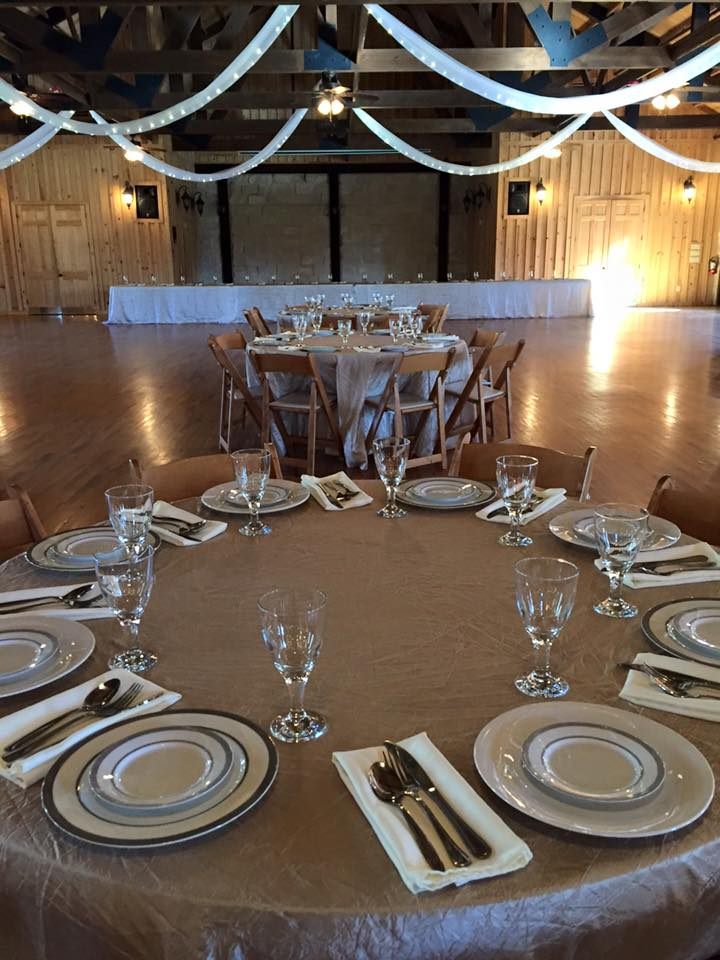 A 250 guest wedding we set up for at The Springs venue.