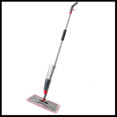 I love this mop for two reasons. It's light and you can use the cleaner of your preference. Definitely a must have.
