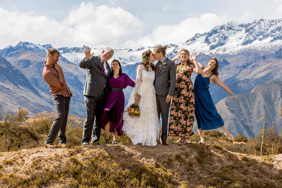 """Here's an example of the photographers work. It's not bad but there was a lot of direction to """"be happy"""" which meant put your hands in the air. Not bad, just not American standard of Wedding Photography"""