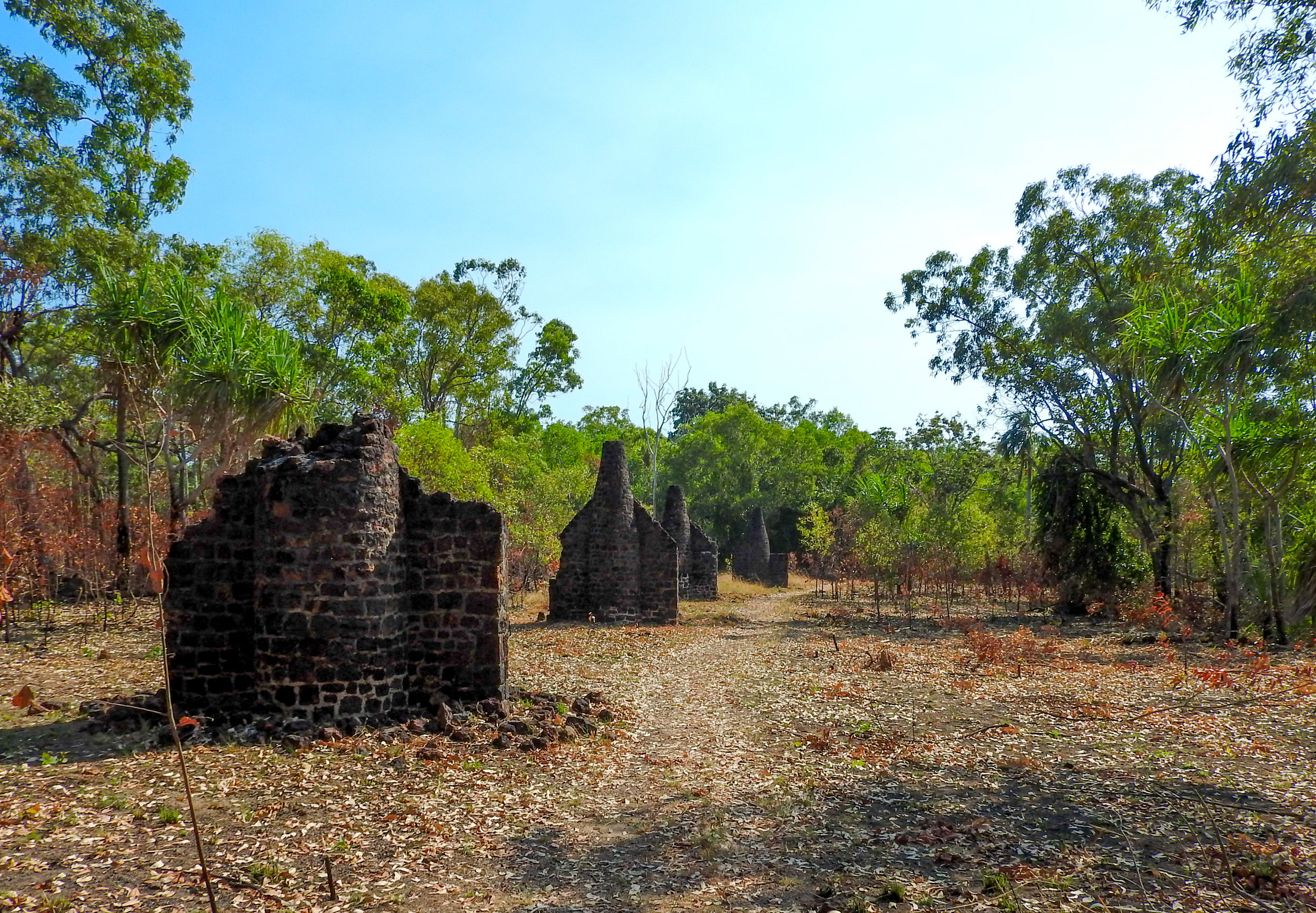 The historic ruins of the Victoria Settlement at Port Essington