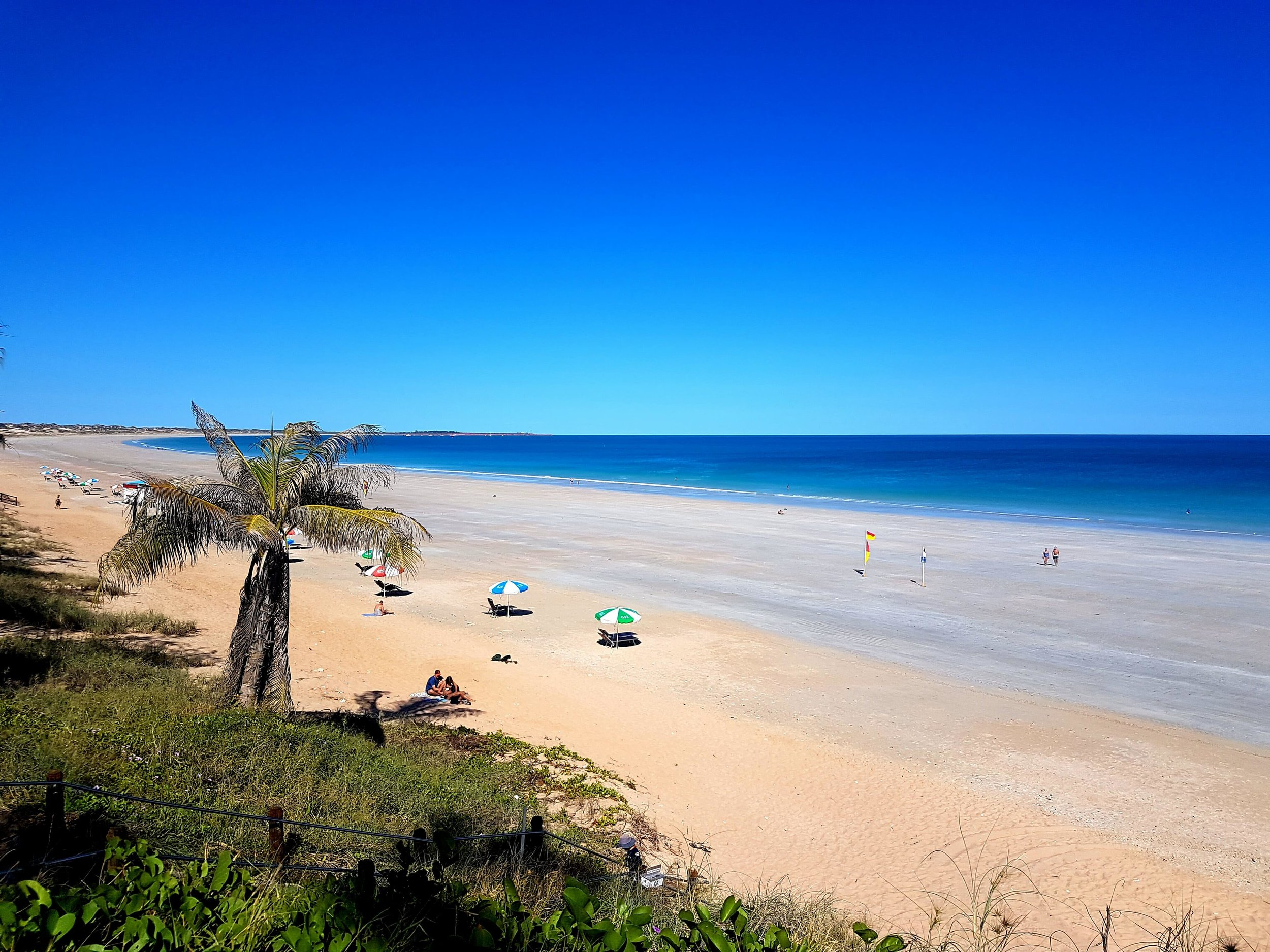 Broome's famous Cable beach is worth a visit