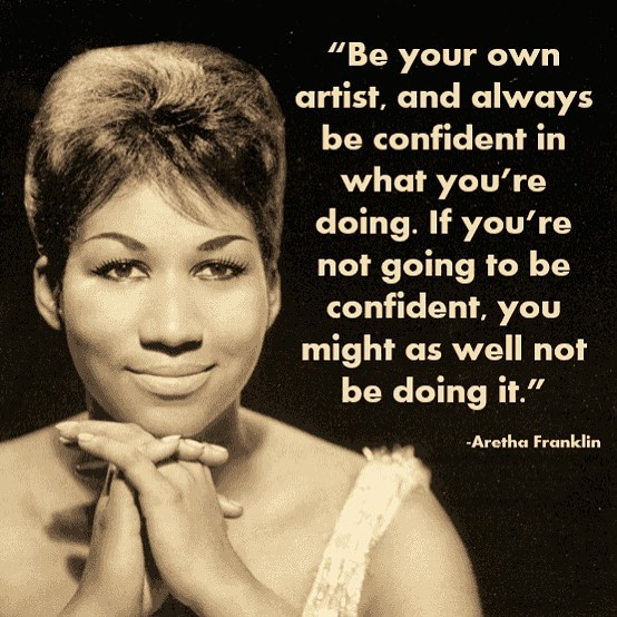 Her music sure taught us a thing or too. #alittlerespect #arethafranklin #inmemoriam  #diva #femaleartist #femaleempowerment #icon #legend