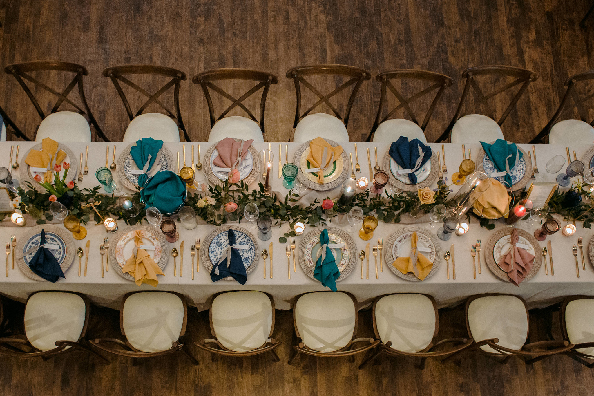 Colourful Boho Wedding - C+H The Great Hall