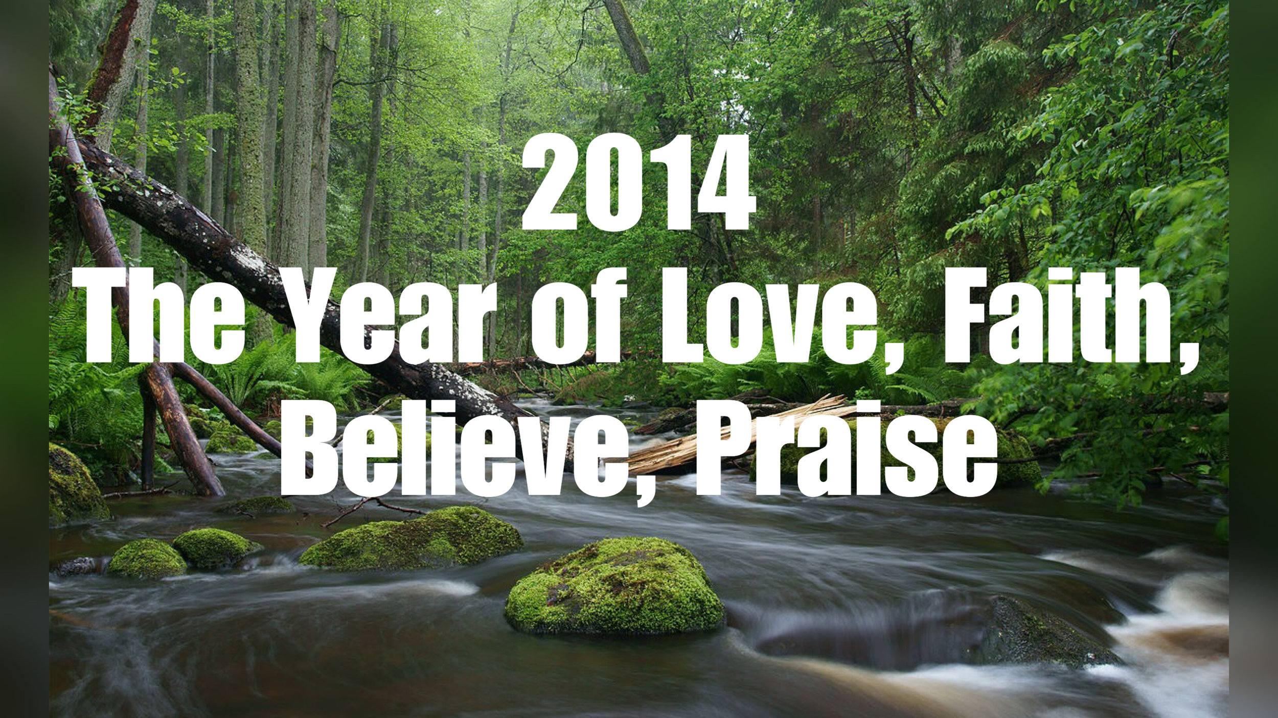 2014- Weekly Sermon Notes