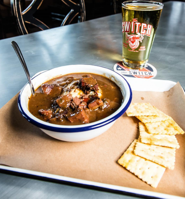Brisket and Sausage Gumbo