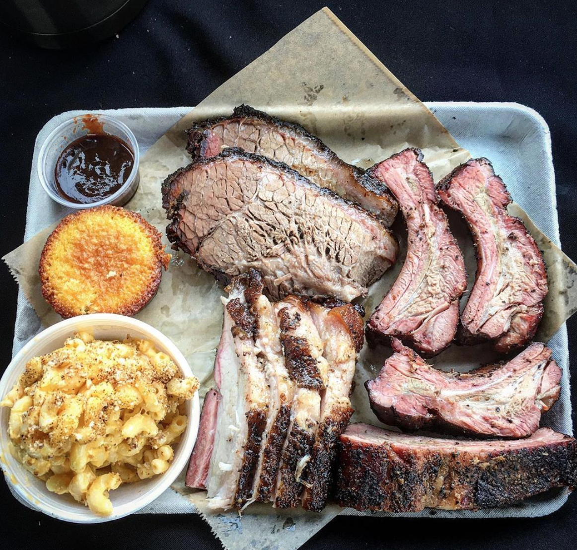Photo of a platter from   Joey's BBQ Spot