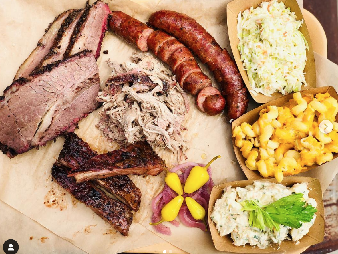 Photo of a platter from   10 East Craft Barbecue