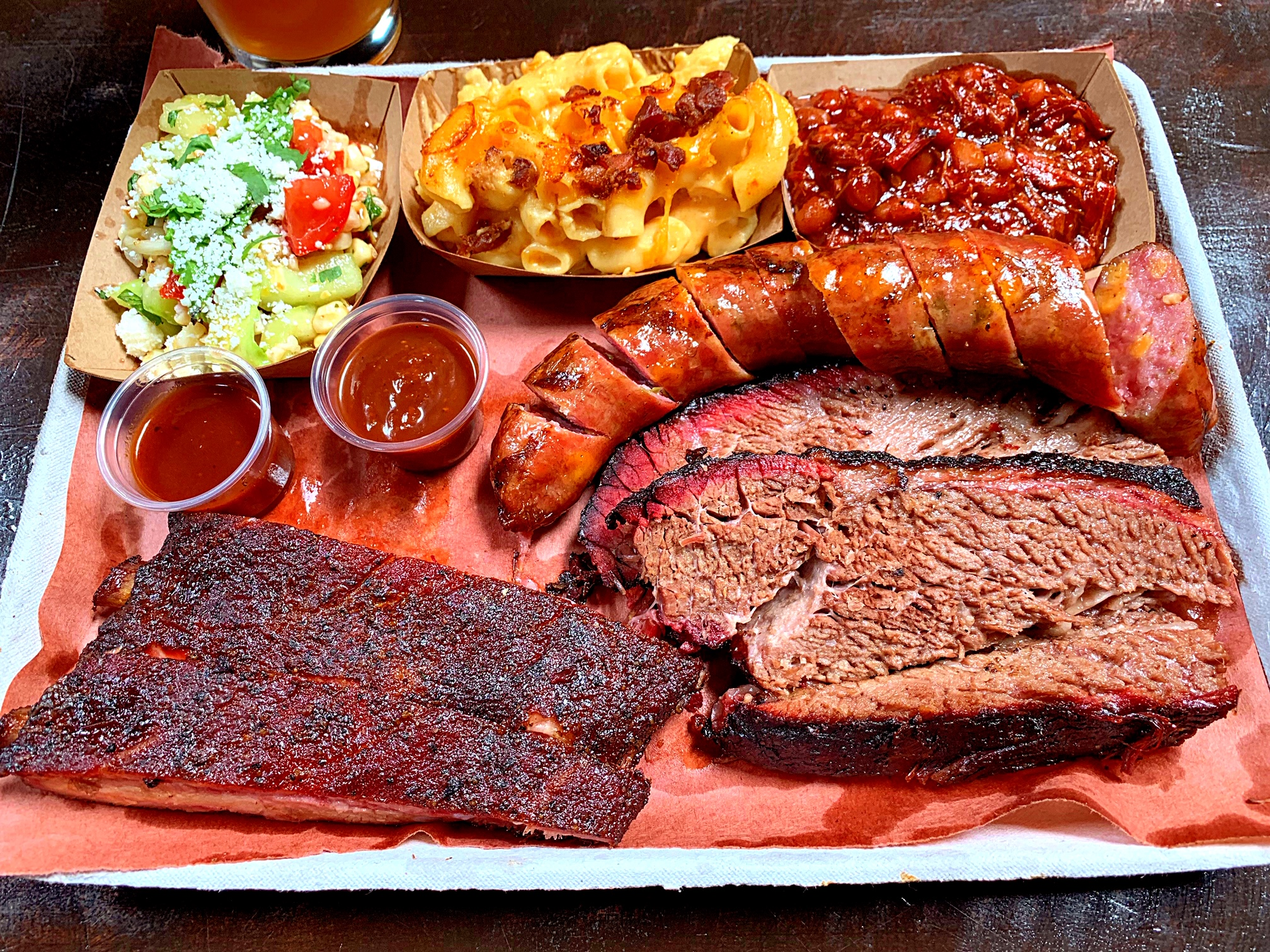 Platter from   Magilla's BBQ