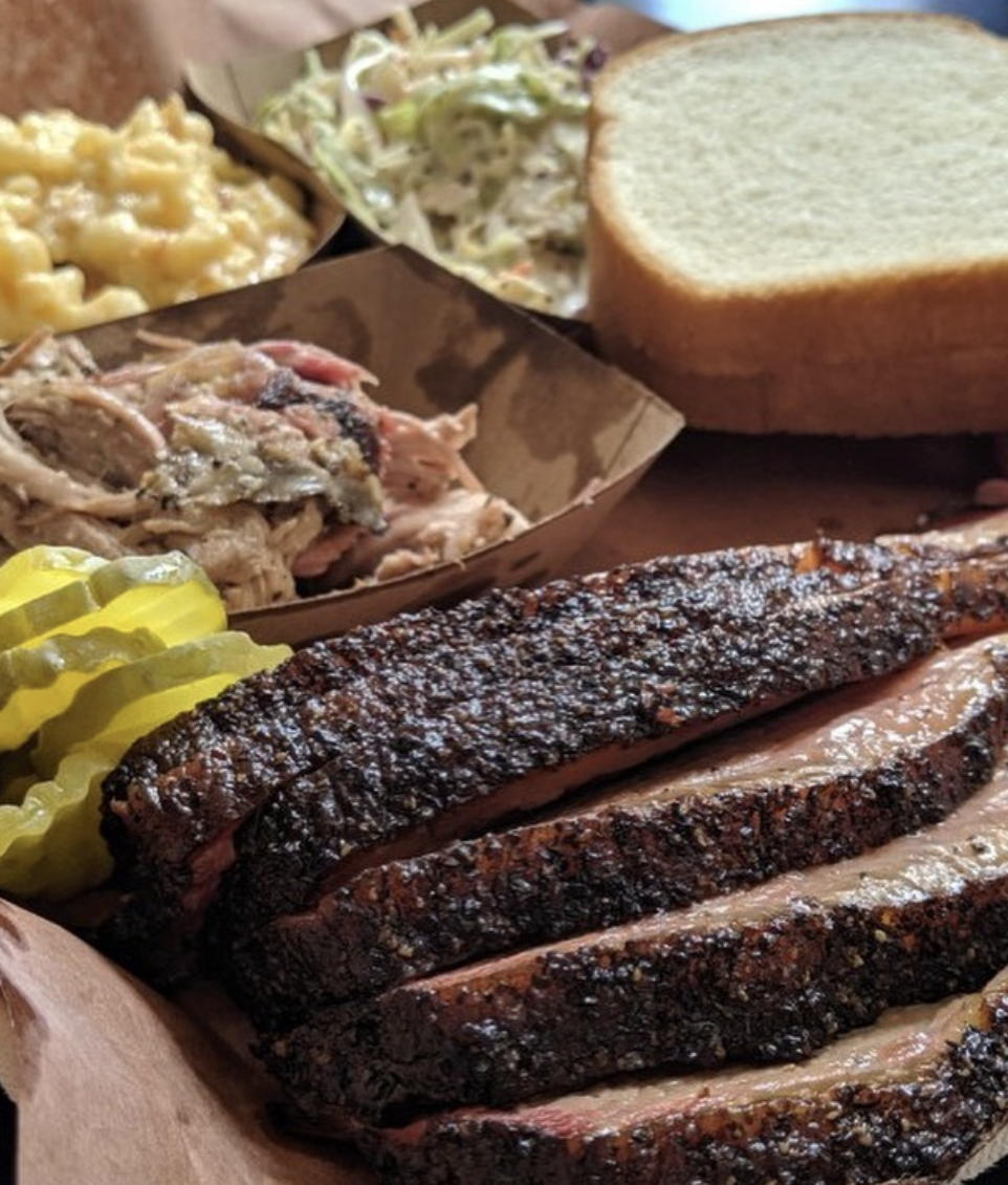 Platter from   The Offset Barbecue