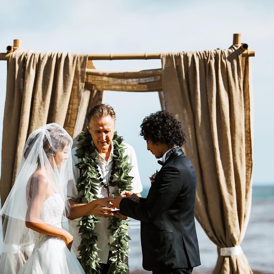 Bridal Flowers Hawaii Moya Wedding