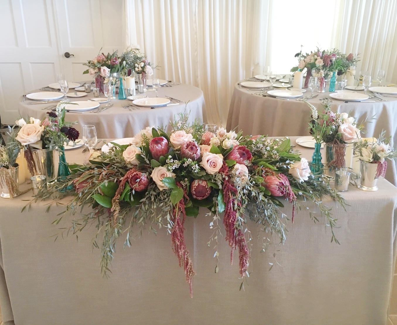 Centerpiece Bridal Flowers Hawaii