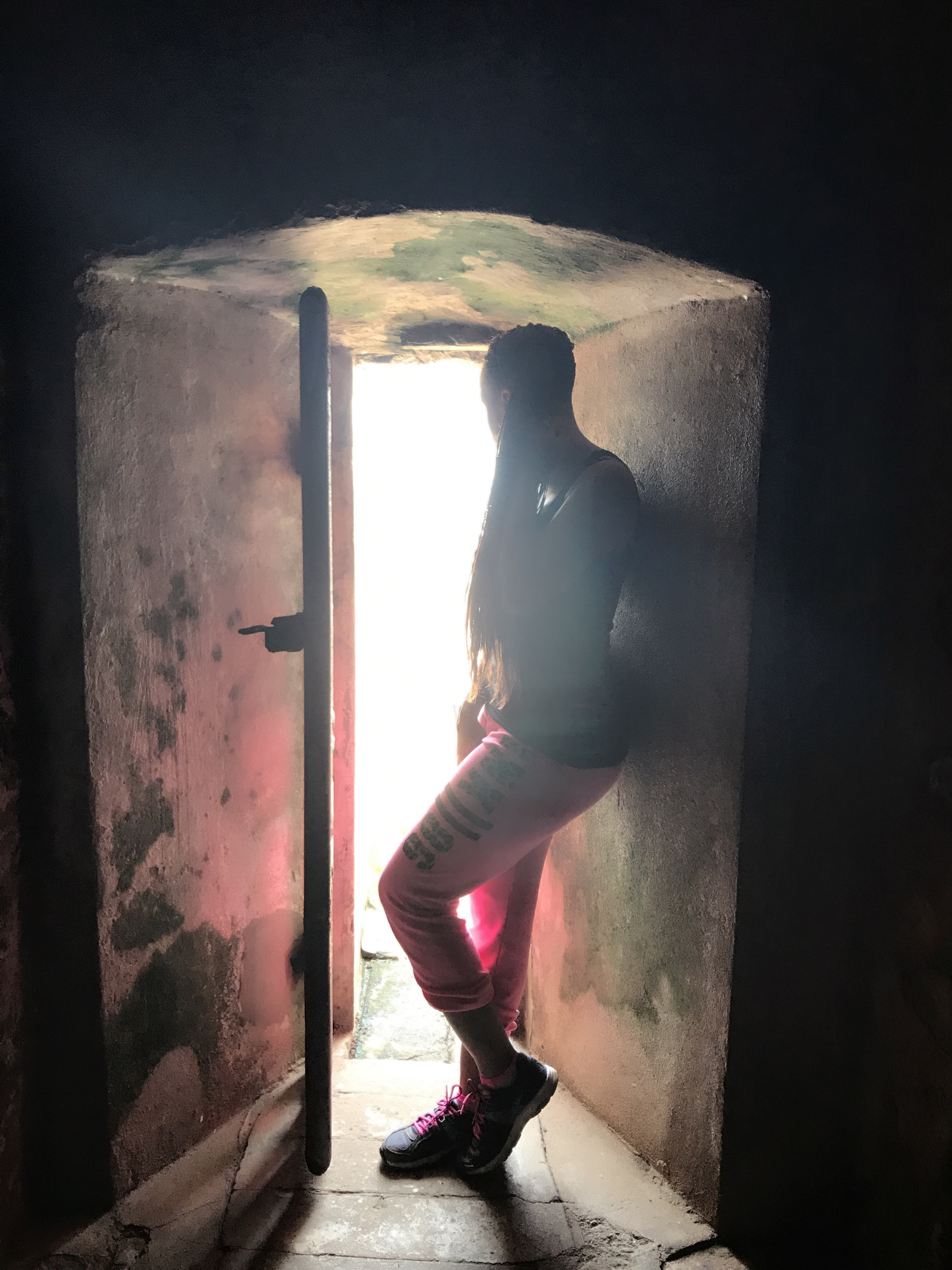 In Ghana last year at the Elmina Castle. Standing here at the door of no return. The last place our ancestors stood before the Middle Passage journey to America. Definitely was a bucket list item to experience this.