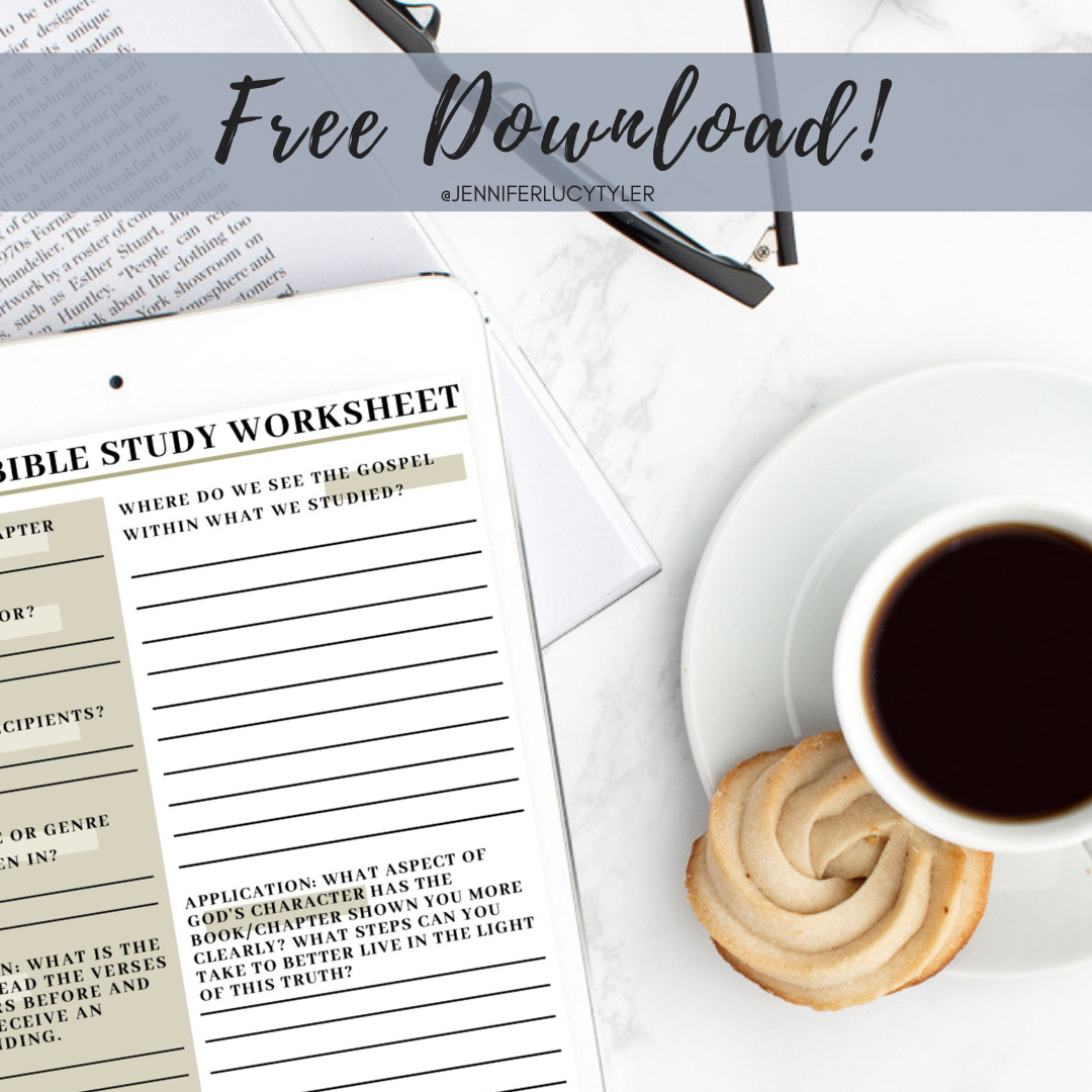 FREE Changemaker Bible Study Guide Download — Jennifer Lucy Tyler