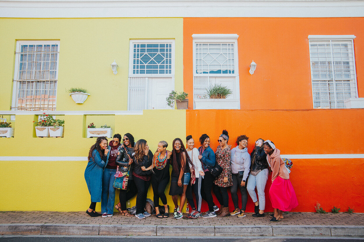 Photoshoot in Bo Kapp by Chanel Botha