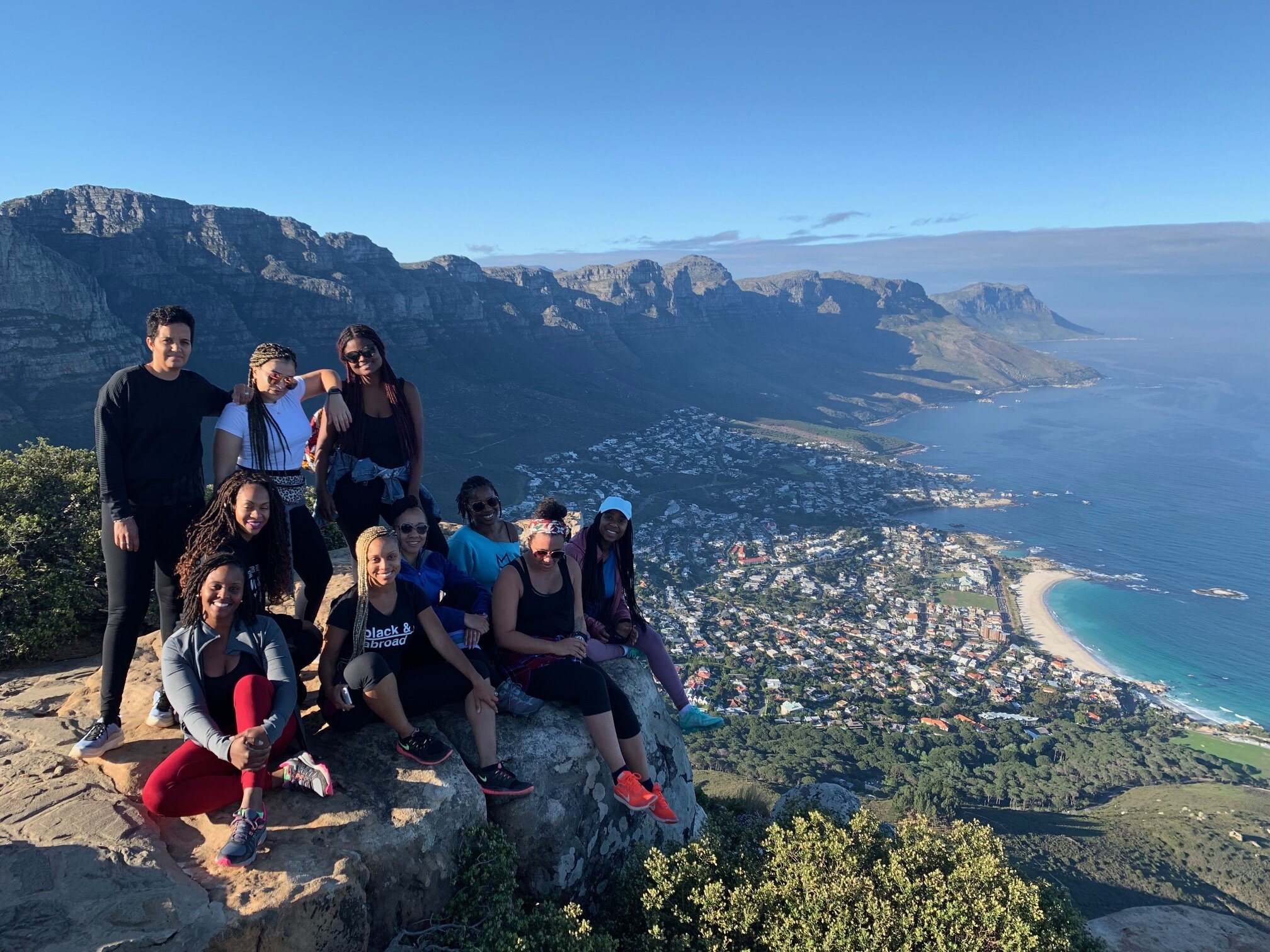 At the top of Lion's Head! We made this climb together on my birthday as well! 10/3/19
