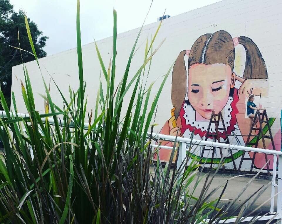 Nambour Street Art Festival - This year we sponsored one of the many great artists of the Street Art Festival. Check out our artists Ring-Tail possum on the wall at the Women's Health Clinic in Howard Street next to Paint City.
