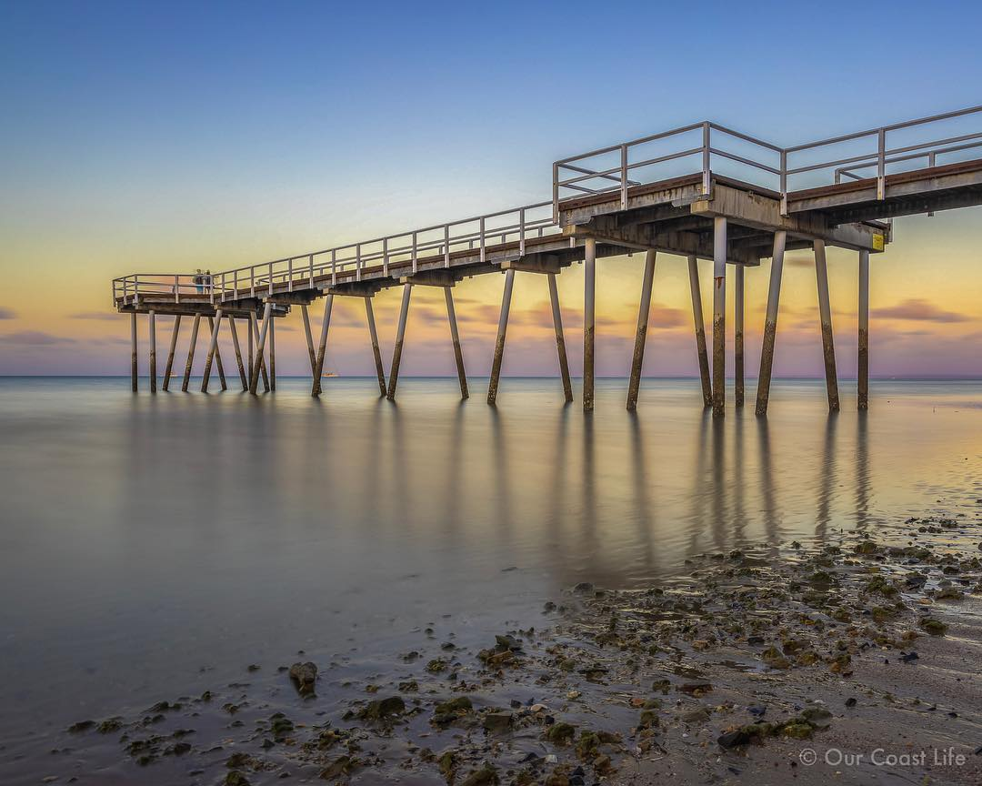 @ourcoastlife   Jetty at Hervey Bay QLD