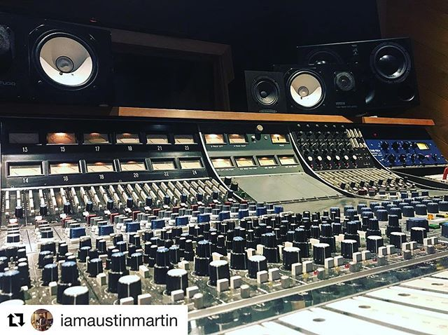 "#Repost @iamaustinmartin ・・・ API Big Boy Toys Today!!!! I Love This Console, The Los End Is Crazyyyyyy 🔥🎛📀!!! Wait Until You Hear How I Mixed My New Album ""I Am Austin Martin 2"" . . #AustinMartin #Austin #Music #Artist #Studio #Beats #Mixing  #Photooftheday #20likes #amazing  #follow4follow #like4like #look #instalike #instadaily #iphoneonly #instagood #bestoftheday  #colorful #style #swag #TFers"