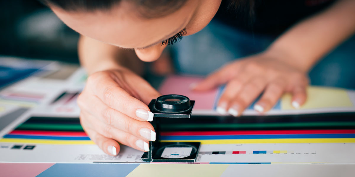 Well trained print operators are highly skilled in colour management