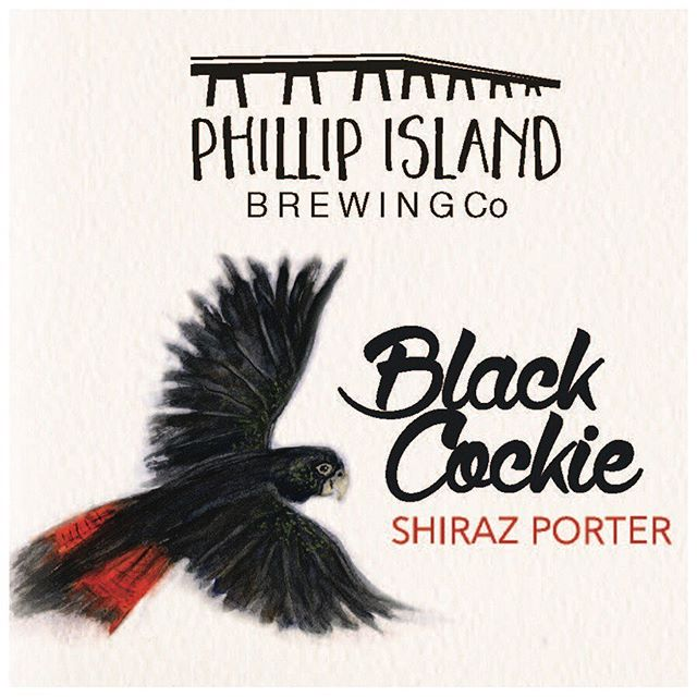 Black Cockie Shiraz Porter 2019 vintage, available now on tap and take home packs. . . #phillipislandbrewingco #craftbeer #craftbeerlife #ale #drinks #blackcockie #ontap #takeaway