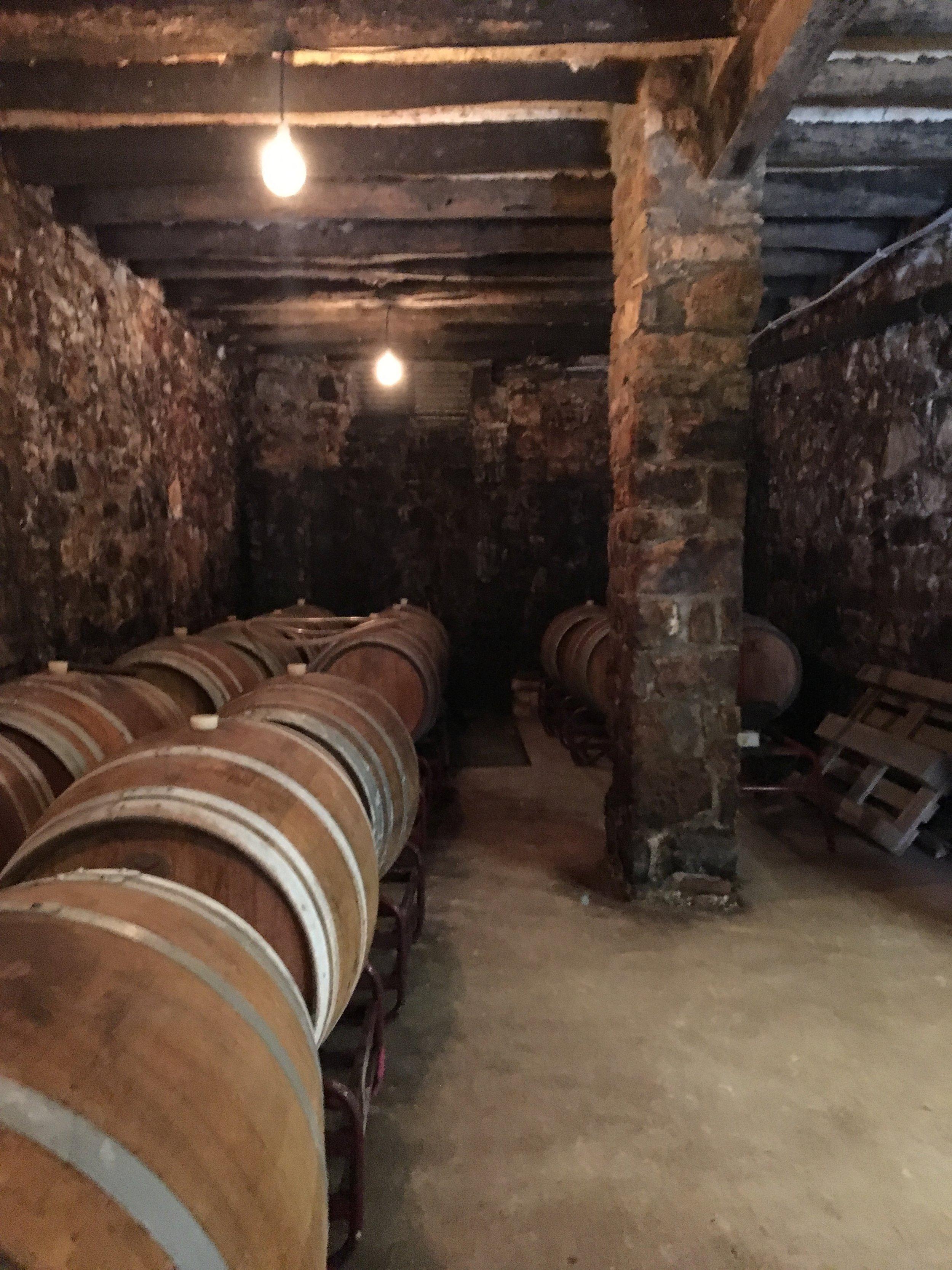 Cuprum sleeping in its oak barrels. Shhh!