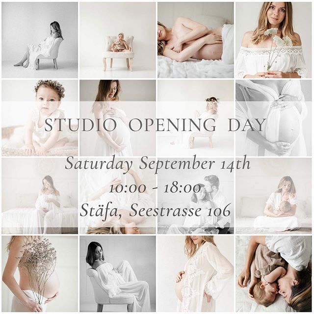 Looking forward having you come and to show you my new Studio💛💛💛 Saturday, September 14th 2019 Seestrasse 106, Stäfa.  As there is no parking space available directly at the Studio, please park at the train station, 5 minutes walking.