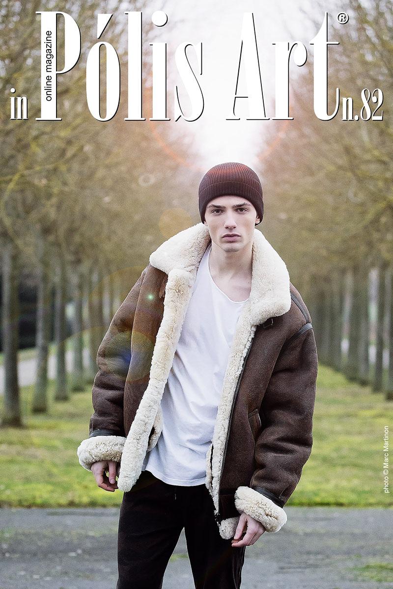 Cold Weather & Warm Blood for Polis Art n°82  Make-up : Julie Mandin  Model : Marlon A (What Else Agency)