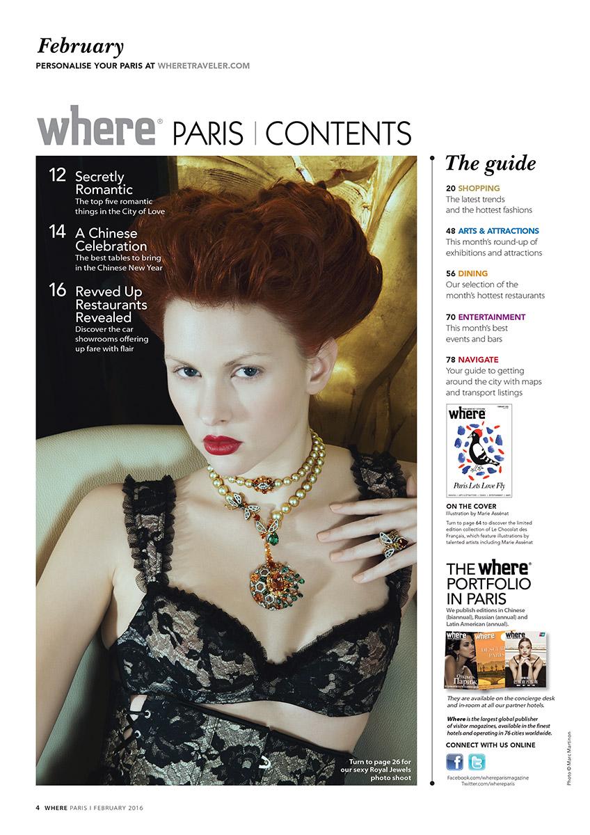 Where Paris n°265 by Marc Martinon