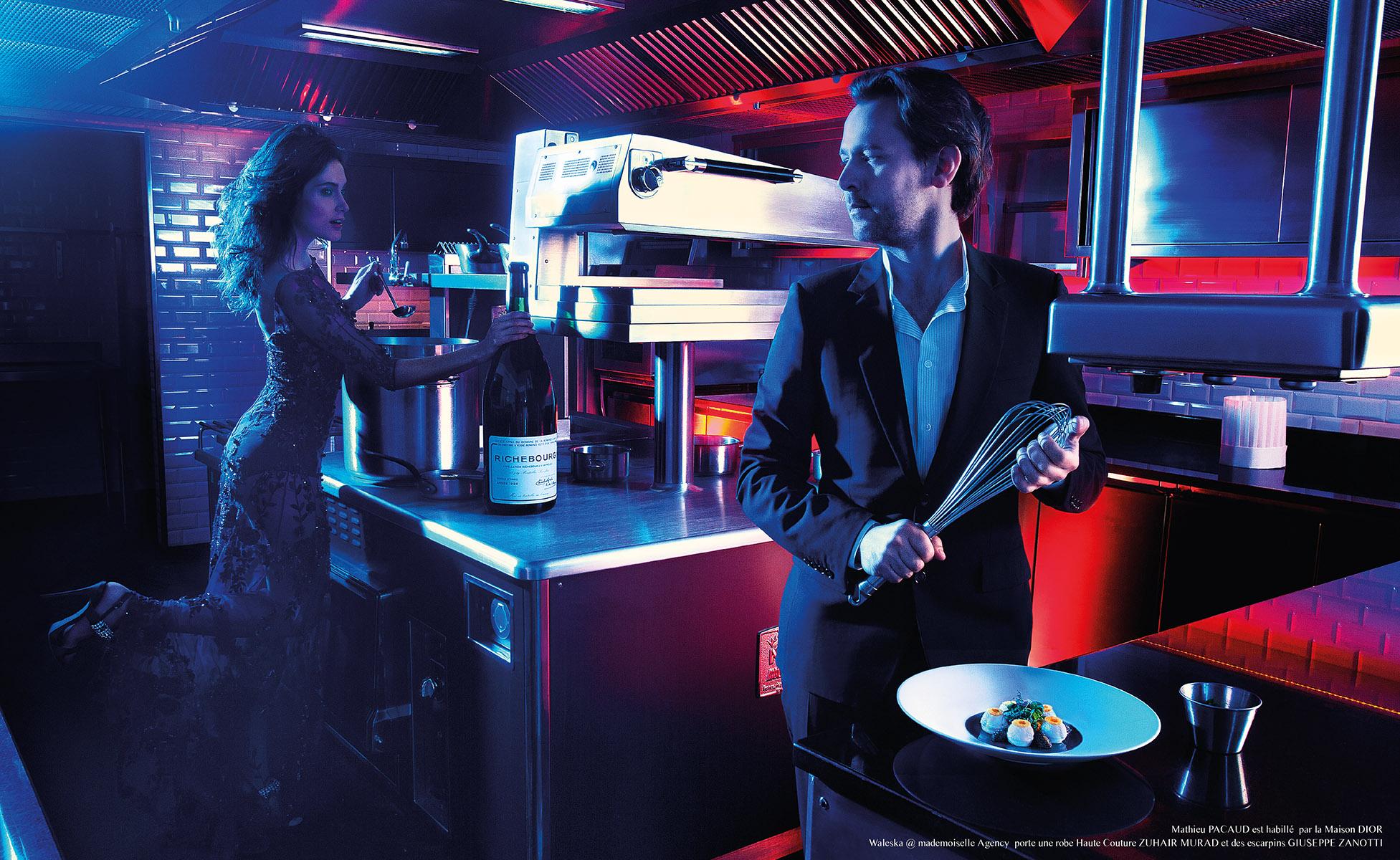 Mathieu Pacaud Chef du restaurant l'Hexagone