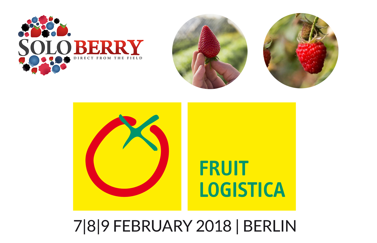 Soloberry Ltd are pleased to announce that we will be exhibiting at the prestigious fresh produce trade show, Fruit Logistica 2018