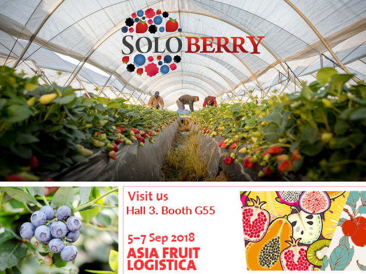 Come and meet Rachel and Luciana at our stand at Asia Fruit Logistica, Hong Kong
