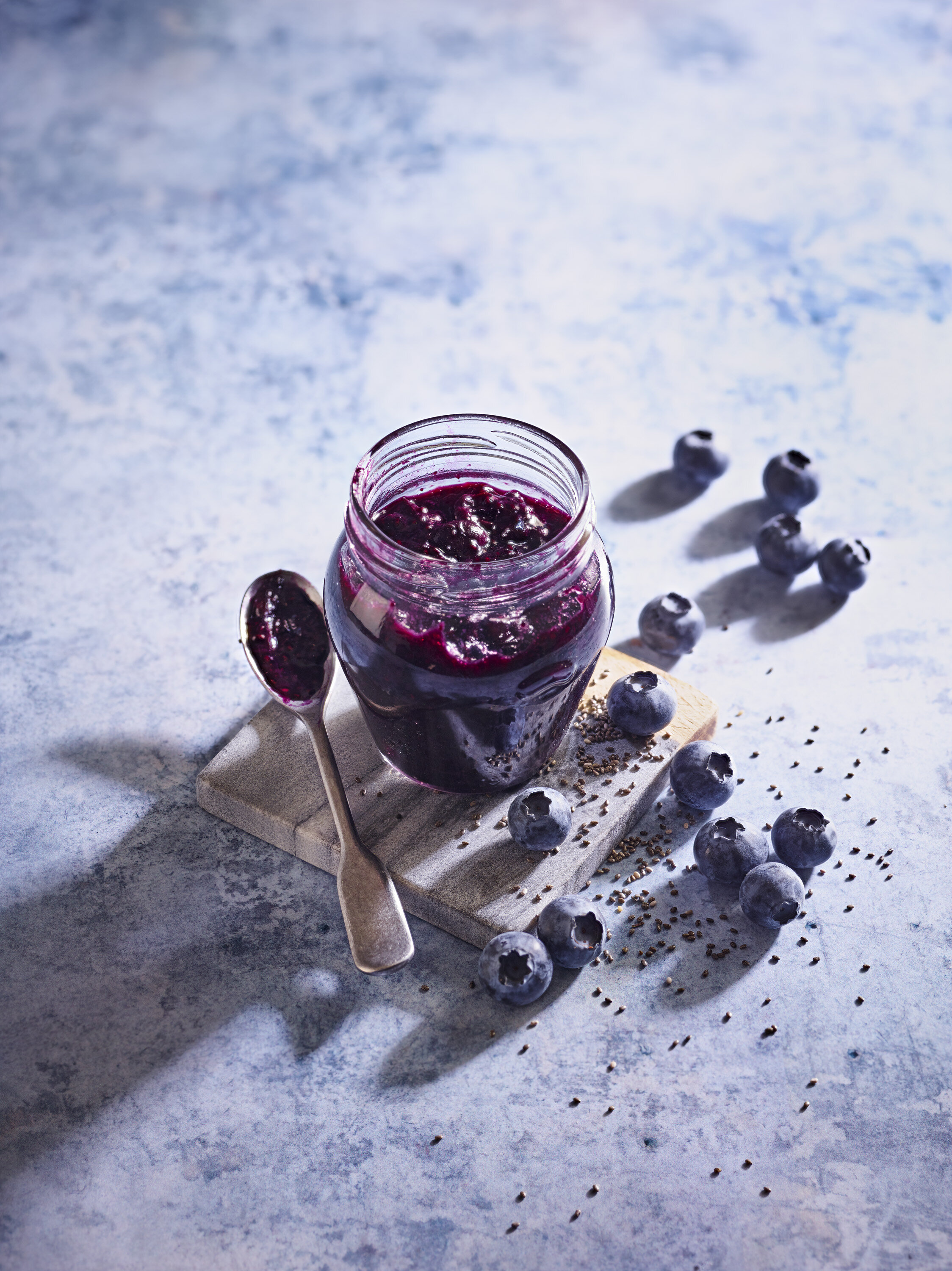 Blueberry Chia Seed Jam for Soloberry from The Medicinal Chef