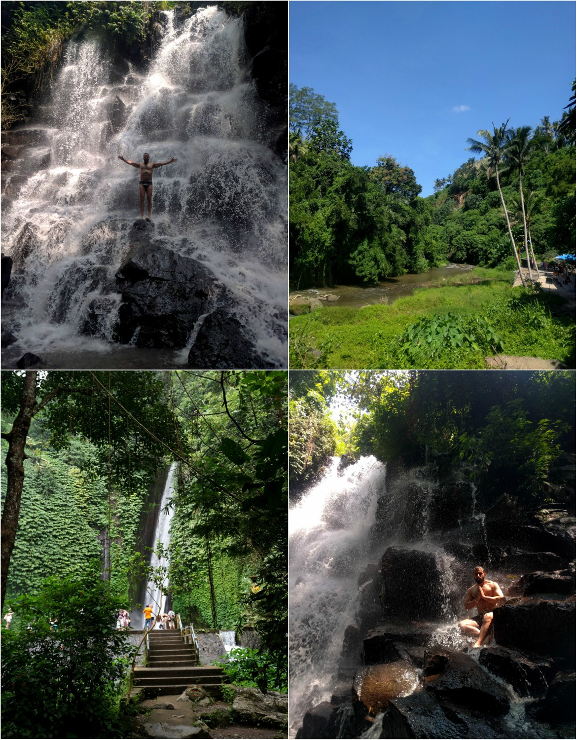 Truevoyagers in Bali Waterfalls