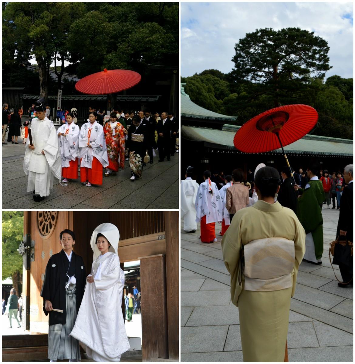 Ιαπωνικός γάμος - νύφη και γαμπρός