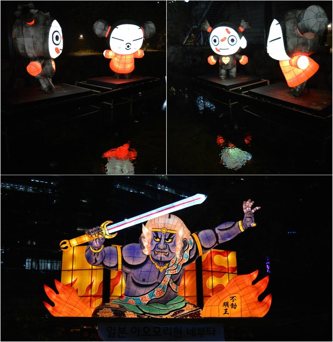 Η Pucca στο Seoul Lantern Festival