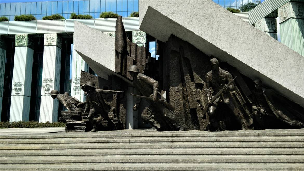 Monument of Warsaw Uprising