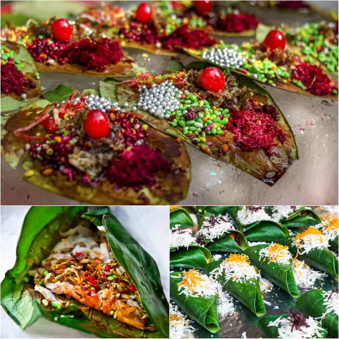 Different types of Ice Paan