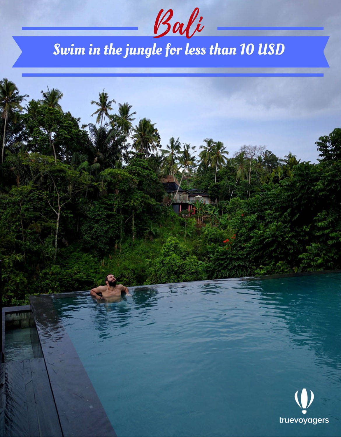 Swim in the best Balinese infinity pool