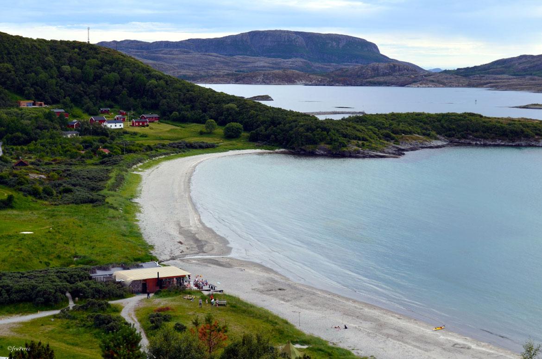 Πανέμορφο Νορβηγικό τοπίο στην Stokkoya από ψηλά