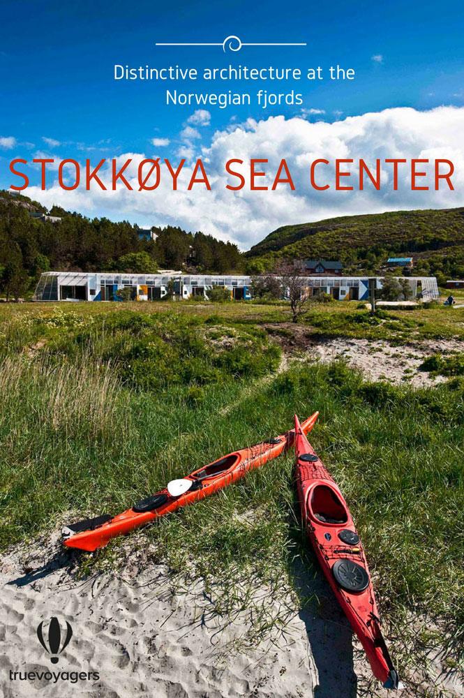 Κανό στο Stokkoya Sea Center στα Νορβηγικά φιόρδ
