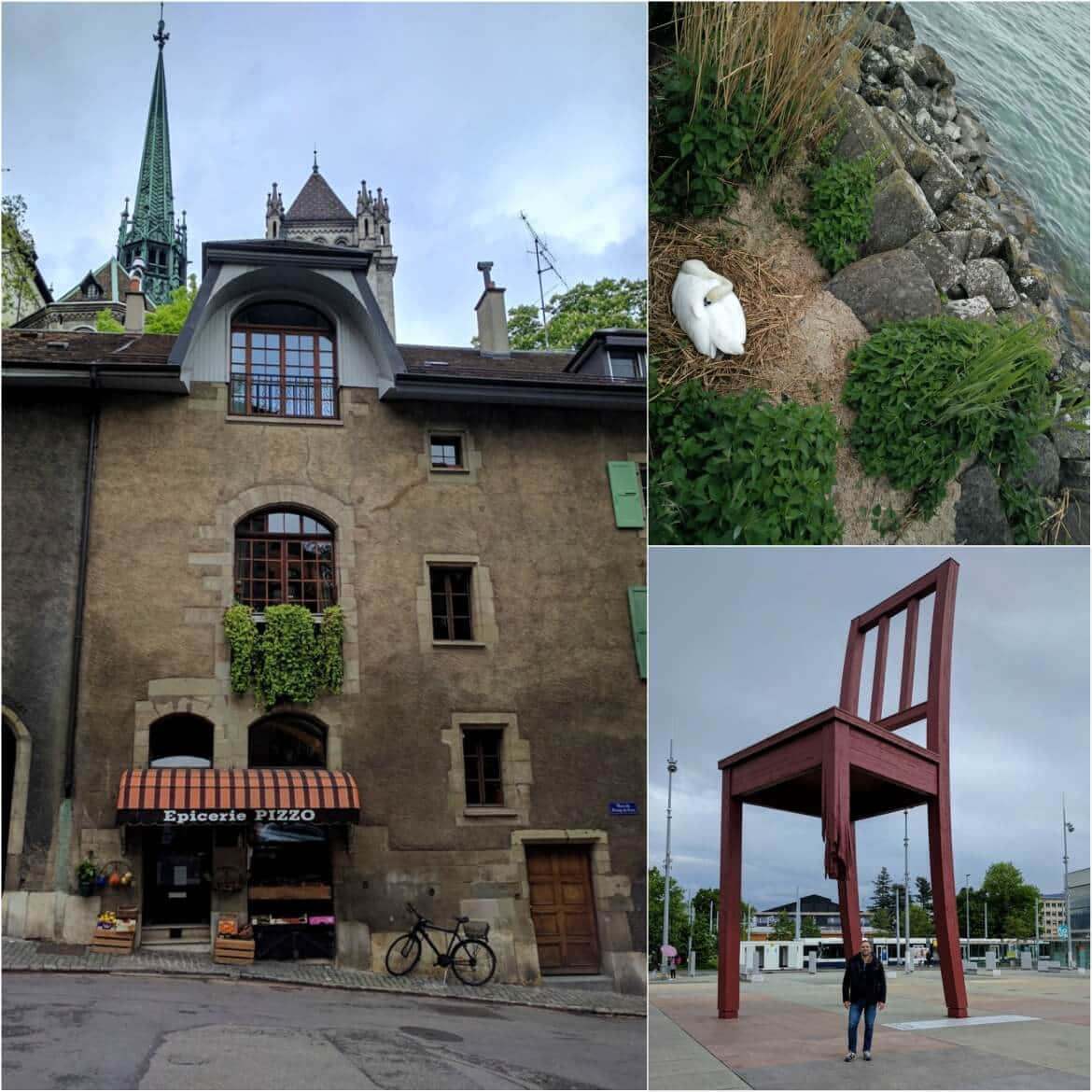 The broken chair and beautiful moments from our visit