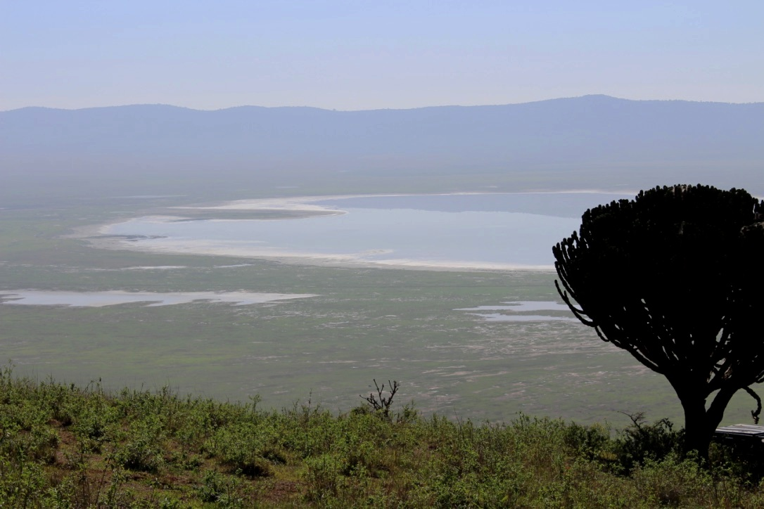 The view to Ngorongoro Crater