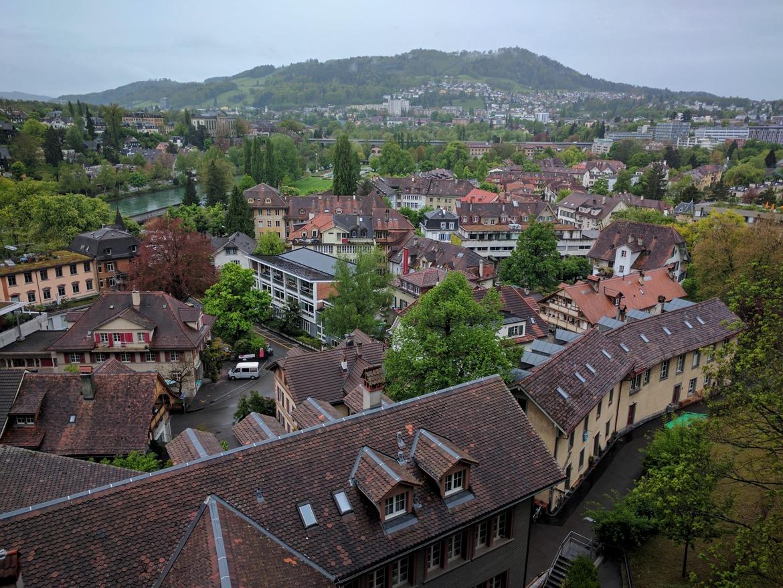 Bird-eye views of Bern