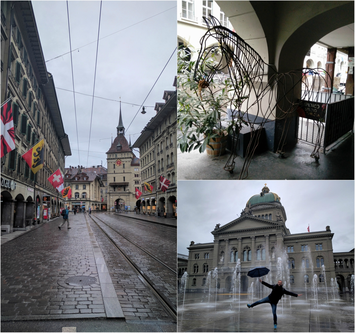 Enjoying architecture and modern art at the Swiss capital