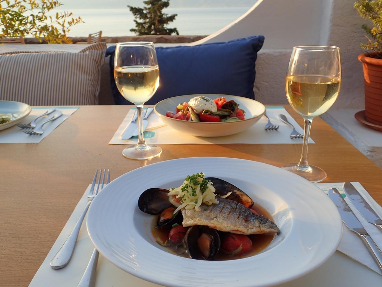 Δείπνο στο Techne Restaurant & Social
