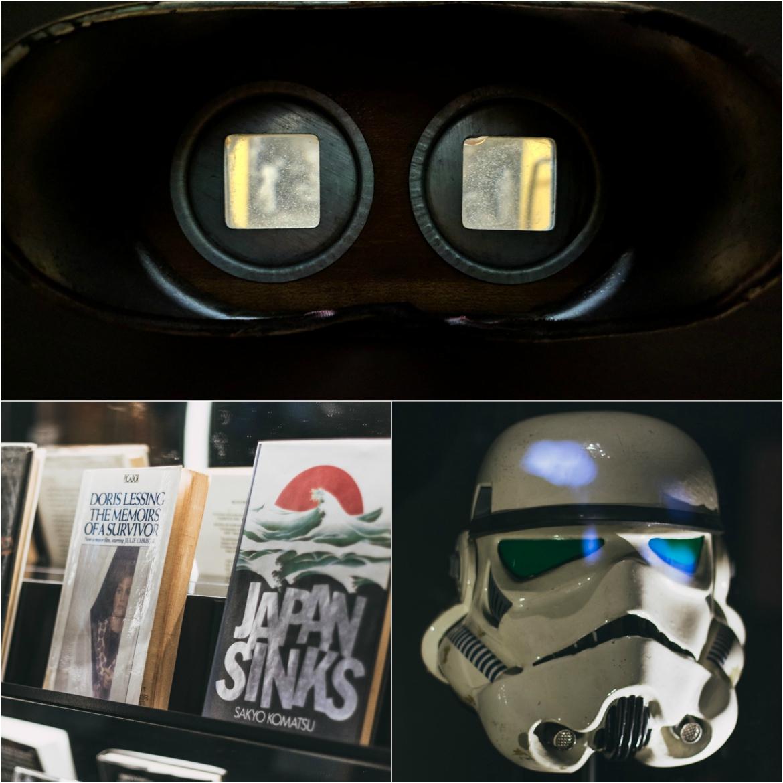 Βιβλία, μάσκες και κυάλια σας μυούν στο sci-fi είδος