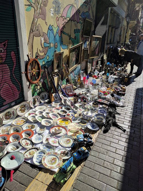 You can find almost anything in Monastiraki, Athens
