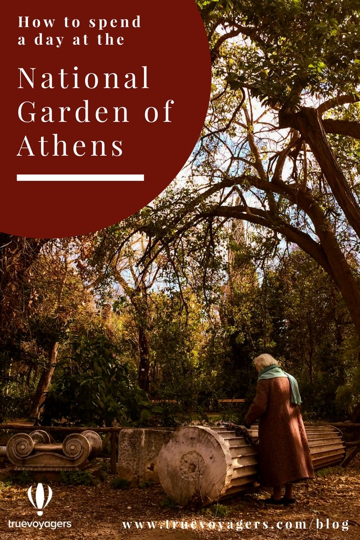 How to spend a day at the National Garden of Athens by Truevoyagers.