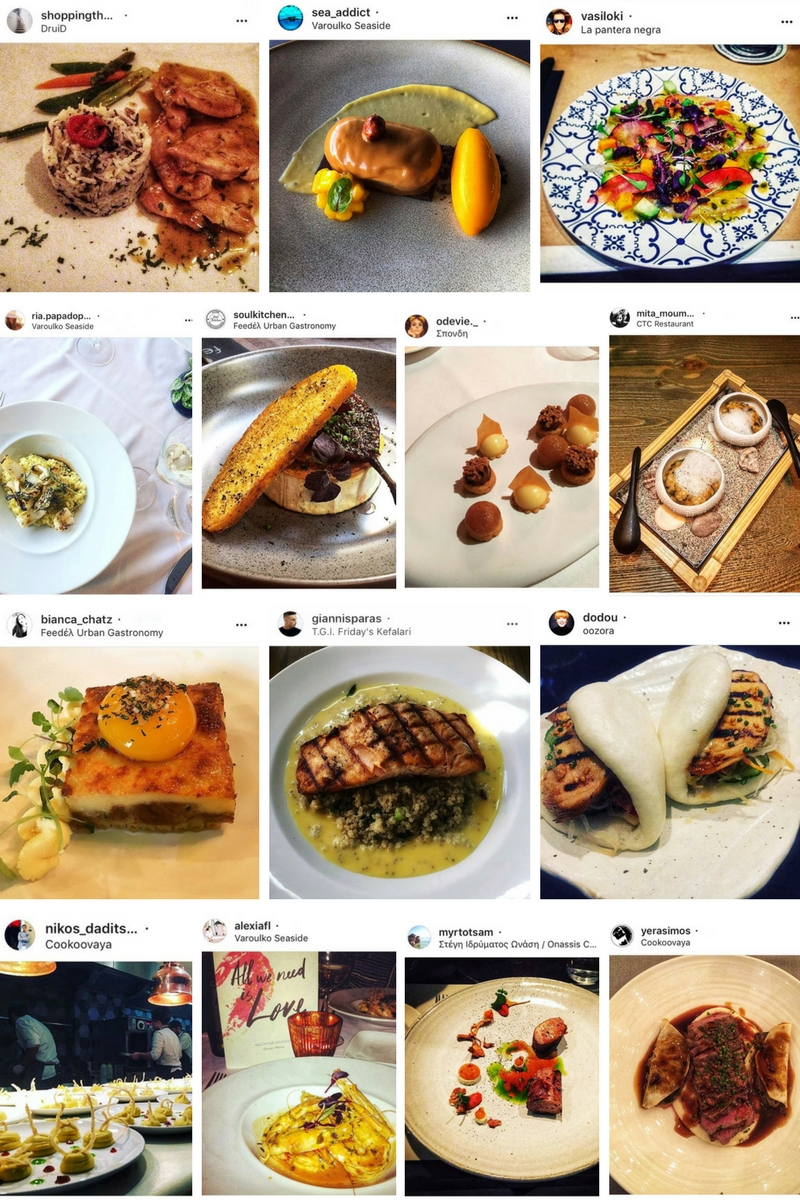 Selecting our favorite #dineathens photos from Instagram.